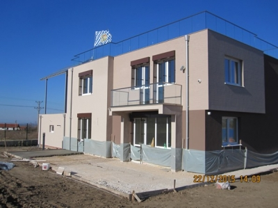 The first passive house certified Passivhaus Standart Plus