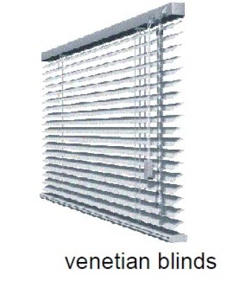 how to cut venetian blinds width